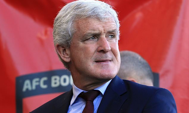Mark Hughes sends his Southampton strikers for target practice