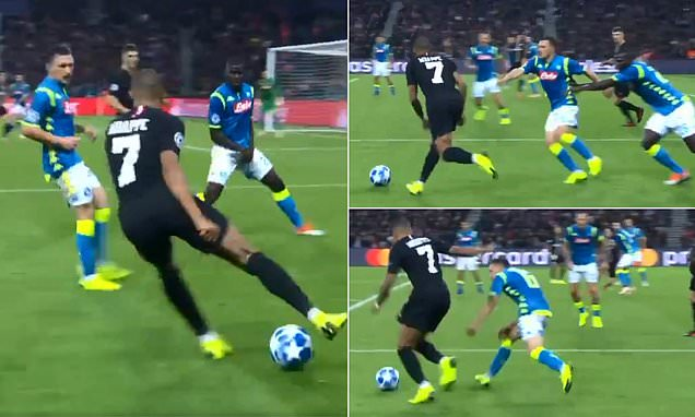 Napoli's Koulibaly comes up with inventive way of stopping Mbappe