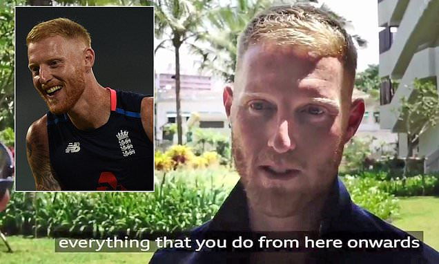 England all-rounder Ben Stokes vows to put tumultuous year behind him