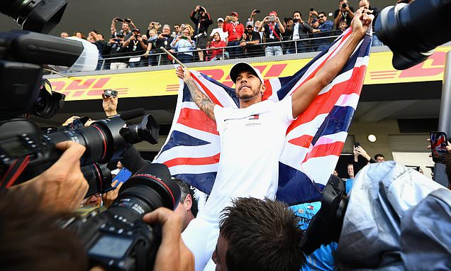 How the title was won: How Lewis Hamilton clinched fifth F1 crown