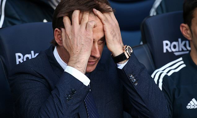 Lopetegui will be sacked having wrecked dreams of Spain and Madrid