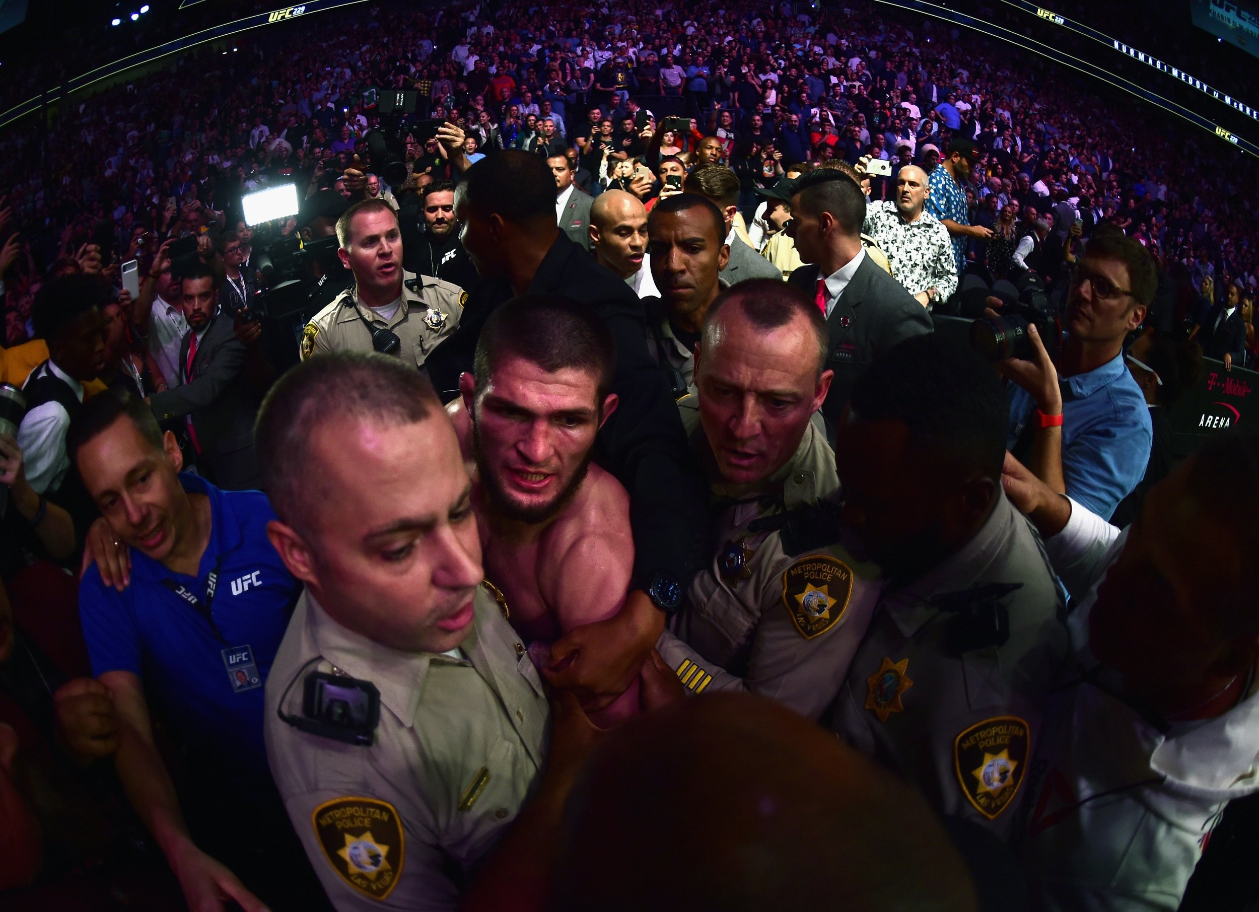 Conor McGregor and Khabib Nurmagomedov have bans extended 'indefinitely' following UFC 229 aftermath