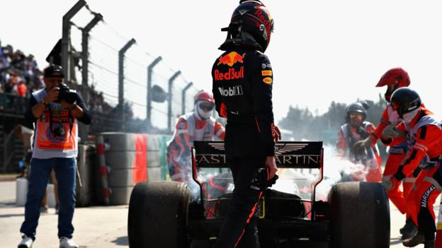 Mexican GP: Verstappen fastest before breaking down