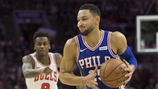 Simmons injury puts a scare up Sixers