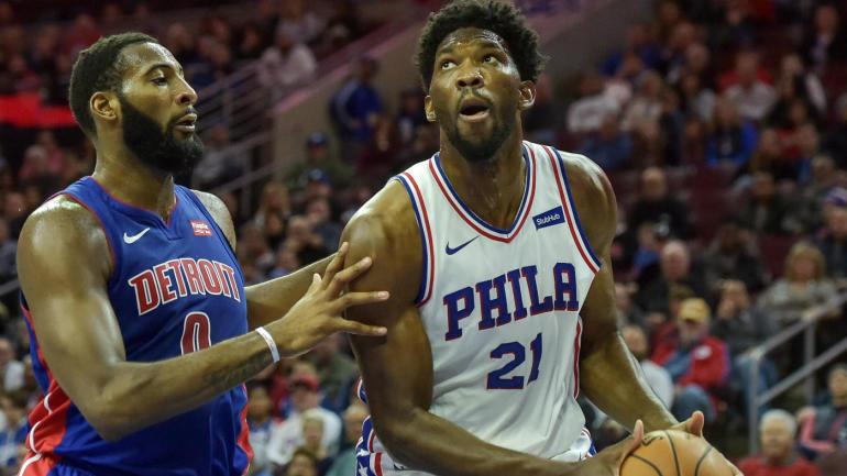 Joel Embiid on rivalry with Andre Drummond: 'I feel like I own a lot of real estate in his head'