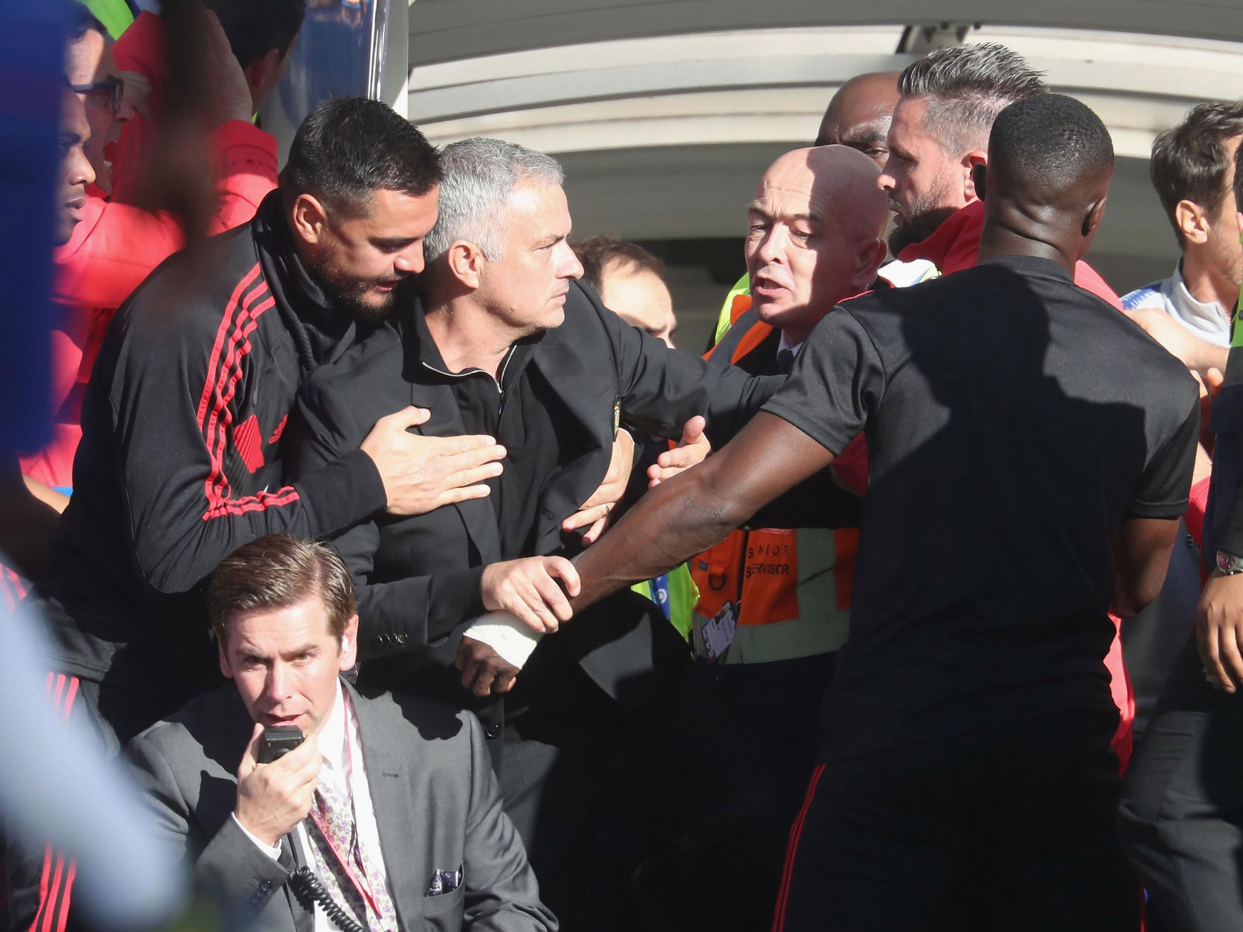 Manchester United manager Jose Mourinho calls for Chelsea to show leniency to Marco Ianni