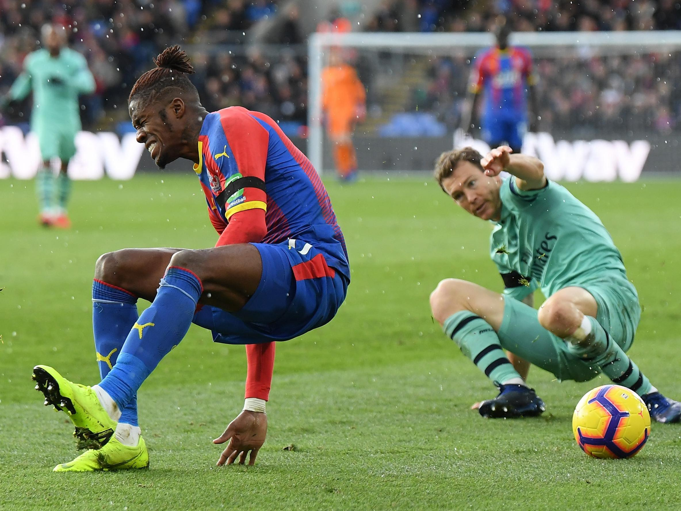 Crystal Palace's Wilfried Zaha reveals racist abuse suffered in draw against Arsenal