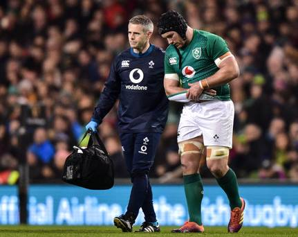 Sean O'Brien set for at least eight weeks on the sidelines while Leinster confirm Leavy suffered neck strain