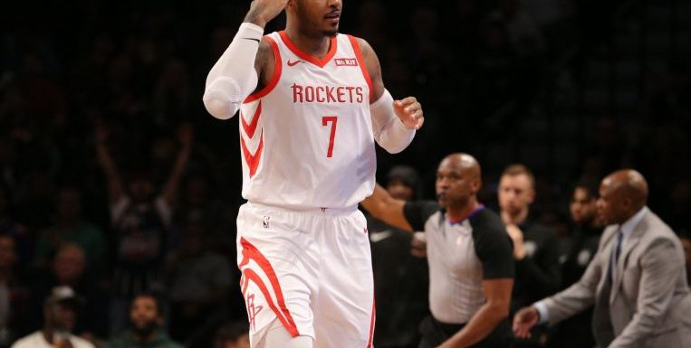 Basketball: Houston Rockets part ways with 10-time All-Star Carmelo Anthony