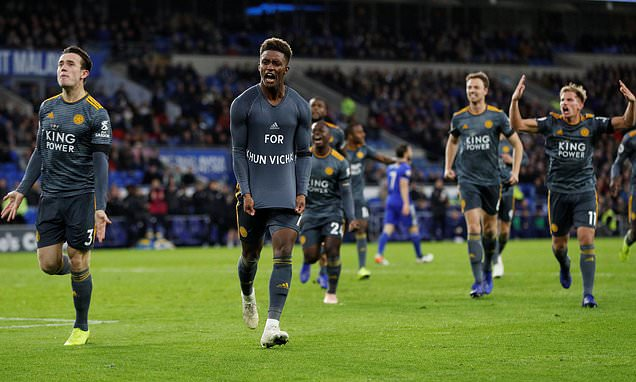 Cardiff 0-1 Leicester: Gray scores only goal as Foxes claim big win