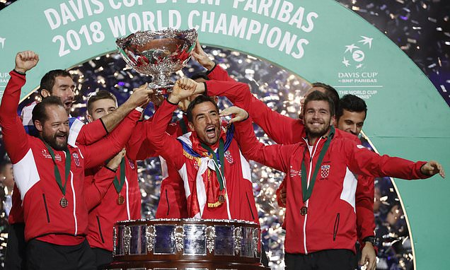 Croatia clinch second Davis Cup title with win over France
