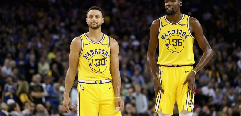Warriors star Kevin Durant discusses playing with Stephen Curry: 'Our games match'