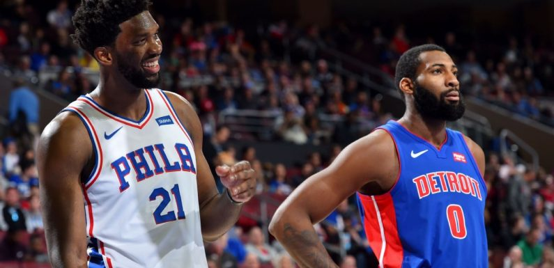 Embiid continues trolling of Drummond in tweet