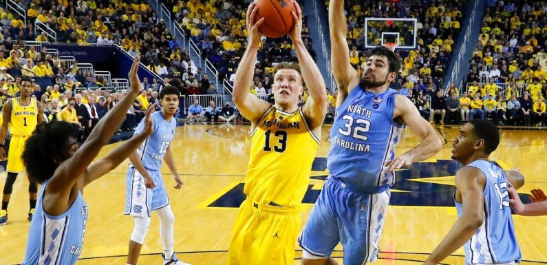 Michigan's complete game dominates North Carolina