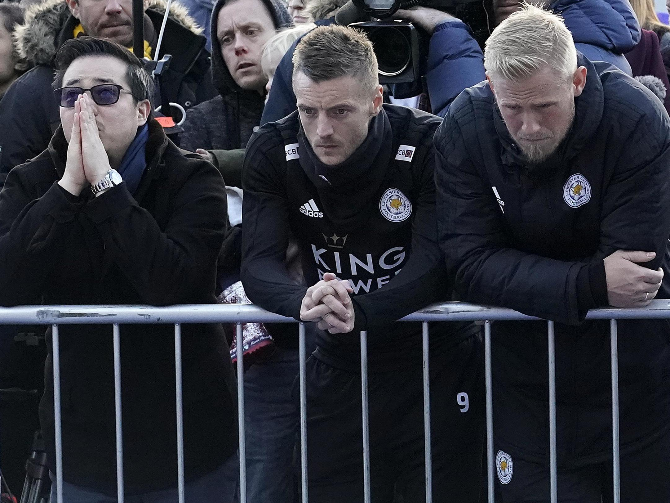 Jamie Vardy: 'He wasn't just a chairman, he was part of the squad itself'