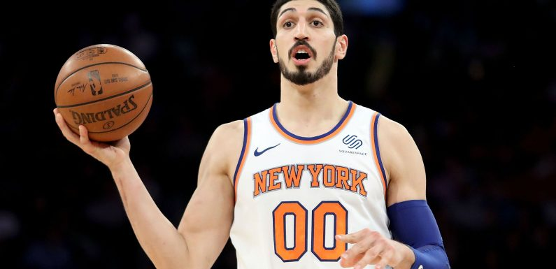 Knicks C Enes Kanter upset with Hawks over 'childish' tweet about his scary fall