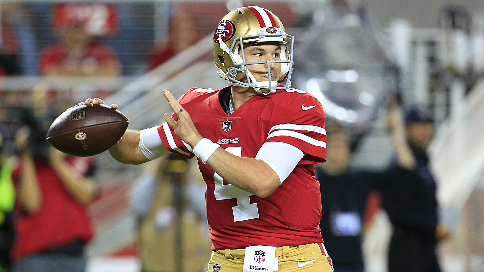 Who is Nick Mullens? Unknown quarterback shines for 49ers in NFL debut vs. Raiders