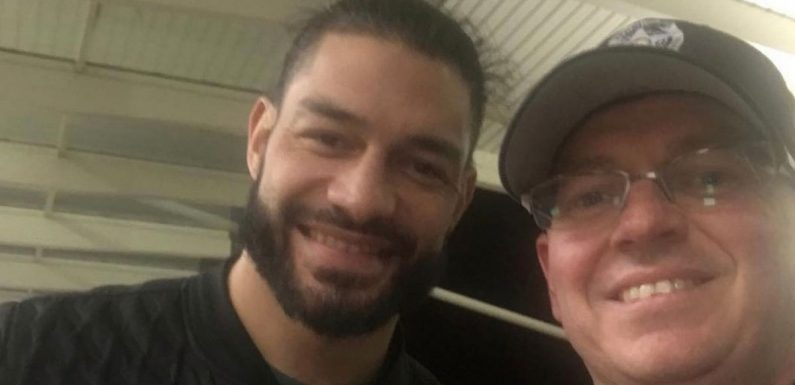 Roman Reigns has message after posing for rare picture whilst battling leukaemia