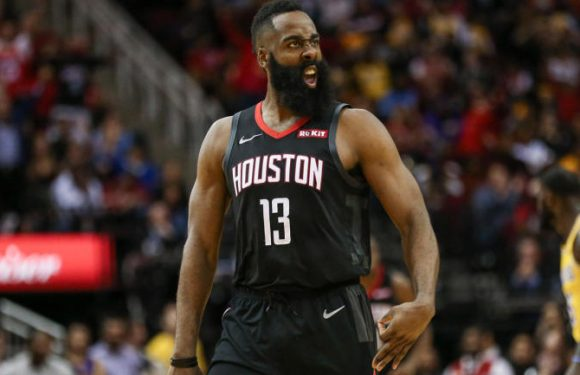 NBA scores, highlights: James Harden's 50-point triple-double leads Rockets past LeBron, Lakers; Dirk makes season debut