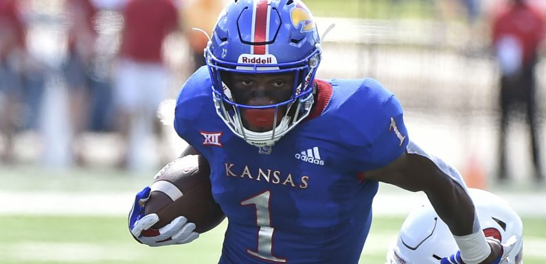 Kansas RB Pooka Williams suspended after arrest on suspension of domestic battery