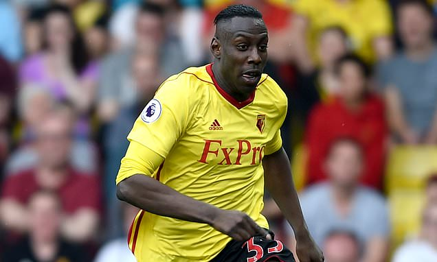 Watford's Stefano Okaka joins Udinese on loan for rest of the season