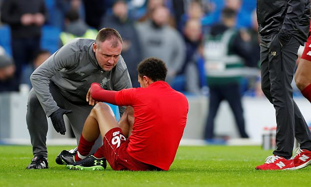 Trent Alexander-Arnold adds to Liverpool defence woe with knee injury