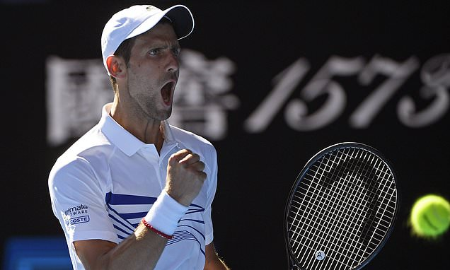 Novak Djokovic cruises past Denis Shapovalov at Australian Open