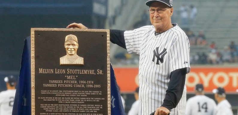 Mel Stottlemyre, Yankees All-Star and longtime MLB pitching coach, dies at 77