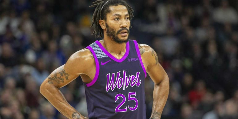 Timberwolves' Derrick Rose tells anyone who doubts him to 'kill yourself;' quickly apologizes for harsh message