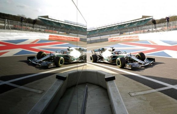Formula One: Hamilton fires F1 title warning as he takes new Mercedes for a spin