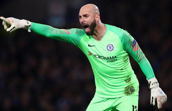 Willy Caballero ready to step in for injured Kepa in Carabao Cup final