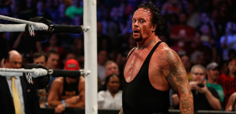 The Undertaker sparks fears his WWE career is finally over