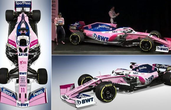 Racing Point launch car for the new F1 season ahead of making debut