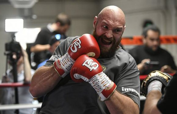 Tyson Fury claims to have floored Jarrell Miller SEVEN times