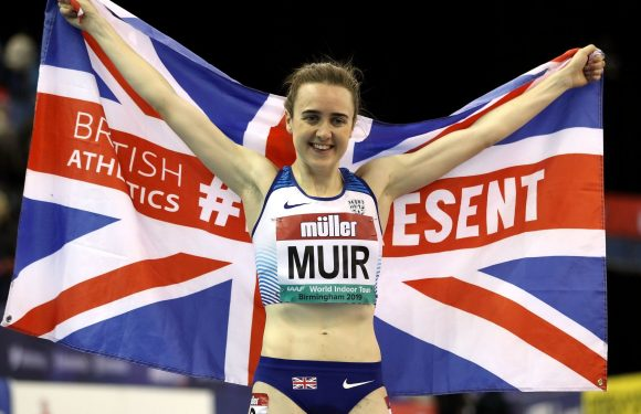 Laura Muir smashes 31-year-old British indoor mile record as Reece Pescod claims second in 60m