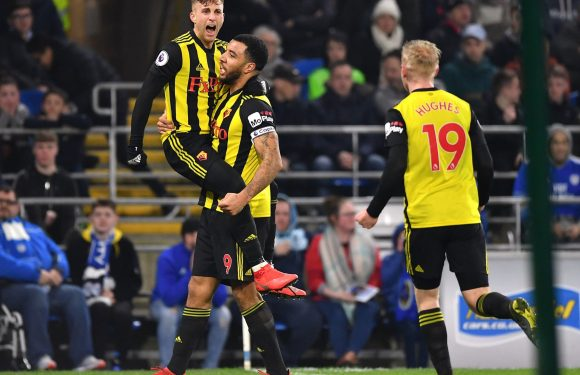 Gerard Deulofeu and Troy Deeney put Cardiff to the sword in thumping Watford win