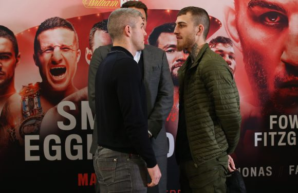 Smith vs. Eggington: Fight date, time, price, how to watch, live stream