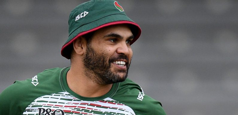 Souths' shift to the right put Inglis and Mitchell on collision course