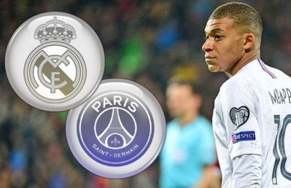 Real Madrid prepare to launch world record £240m bid for PSG star Kylian Mbappe