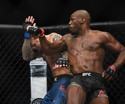 UFC 235: Jon Jones retains title in Las Vegas while Kamaru Usman makes history with win over Tyrone Woodley