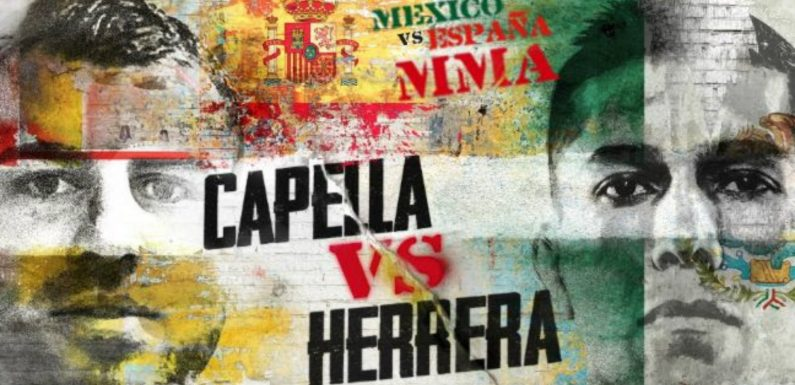 Combate Americas: Mexico vs. Spain fight date, time, how to watch, live stream