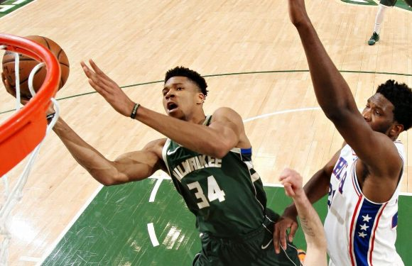 Giannis outduels Embiid with 52 but 76ers prevail