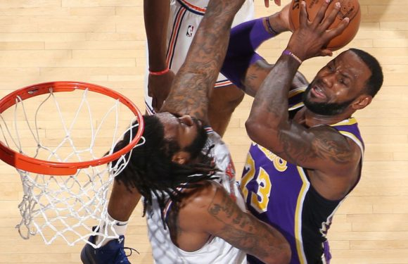 LeBron James scores 33 points in vain as New York Knicks rally to beat Los Angeles Lakers