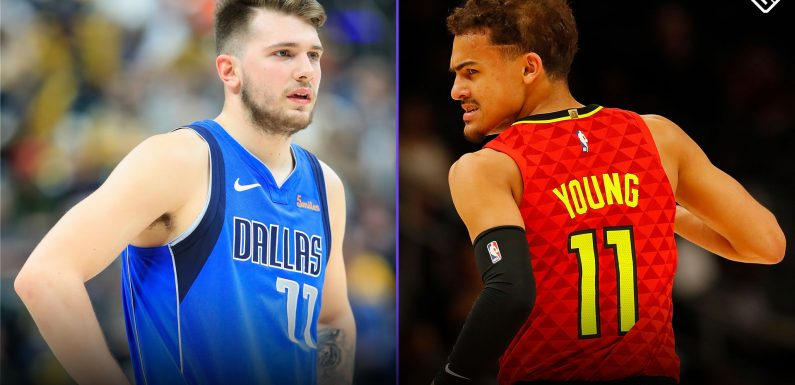 Trae Young can't close gap on Luka Doncic in Rookie of the Year race