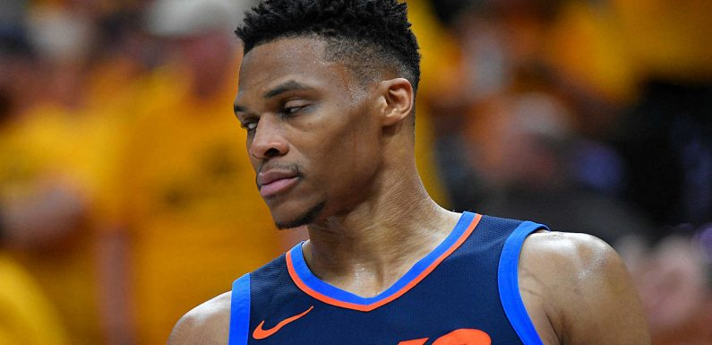 Russell Westbrook might play jerk, but harsh fans are real problem
