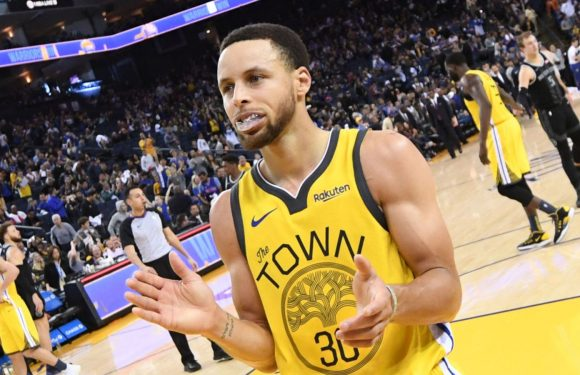 Stephen Curry returns as Golden State Warriors reclaim top seed with win over Detroit Pistons