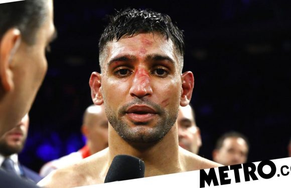 Amir Khan performs U-turn and blames coach for controversial stoppage v Crawford