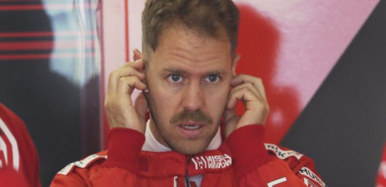 Vettel sets the pace in first Chinese Grand Prix practice