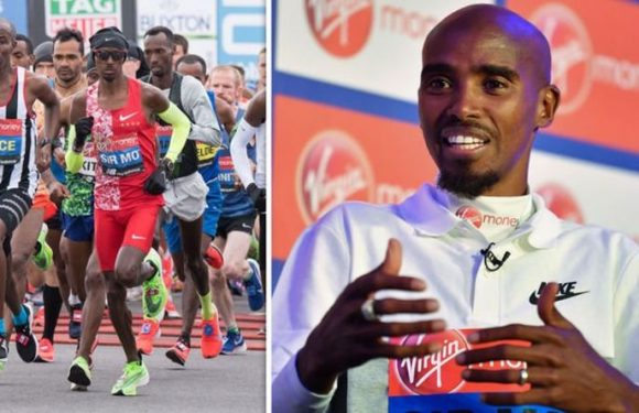 Mo Farah slammed by London Marathon viewers for what he has written on his running vest