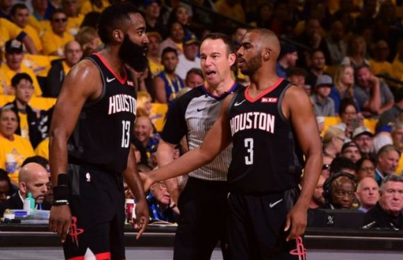 Warriors vs Rockets: NBA fans LIVID with referees over clear fouls not given